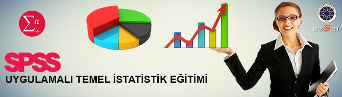 SPSS UYGULAMALI TEMEL İSTATİSTİK EĞİTİMİ